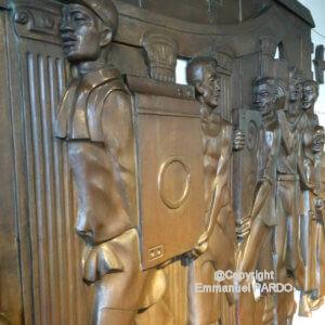 sculpture travailleurs