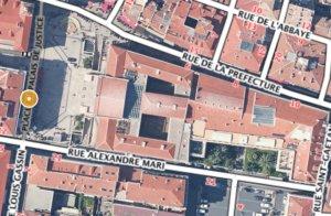 Satellite Nice Palais de Justice
