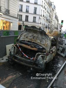 Assurance voiture brulé dégradation